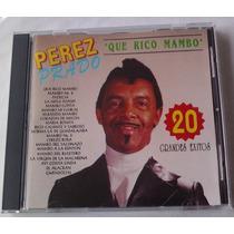 Perez Prado 20 Grandes Exitos Cd Raro 1993