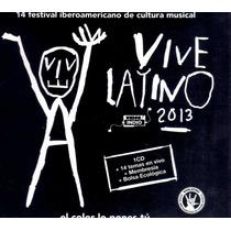 Cd Soundtrack Vive Latino 2013: Porter, Celso Piña, El Tri