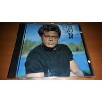 Luis Miguel, 20 Años, Cd Album Muy Raro De 1990