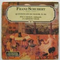 Franz Schubert / Quinteto En Do Mayor 1 Disco Lp Vinilo