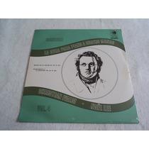 Schubert Obra Para Piano A 4 Manos / Lp Vinil Acetato Nuevo