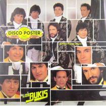 Los Bukis - 4 Super Exitos Disco Poster Lp