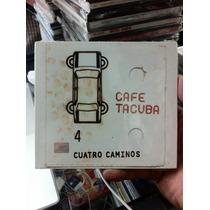 Cafe Tacuba Cuatro Caminos Cd Digipack Nuevo