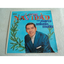 Marco Antonio Muñiz Alegre Navidad 1969 / Lp Vinil Acetato