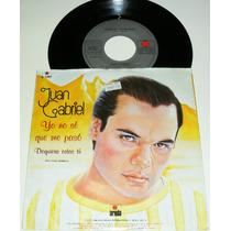 Juan Gabriel / Yo No Se Que Me Paso / Disco Ep 7´de 45 Rpm