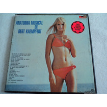 Bert Kaempfert Anatomía/ Álbum Triple/ 3 Lp Vinil Acetato