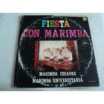 Marimba Chiapas & Marimba Universitaria/ 3 Lp Vinil Acetato