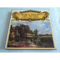 La Música Mas Bella Del Mundo 56 Obras / 8 Lp Acetato Vinil
