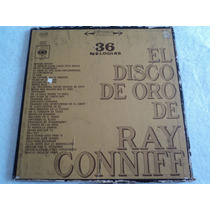 Ray Conniff Disco De Oro/ Álbum Triple/ 3 Lp Acetato Vinil