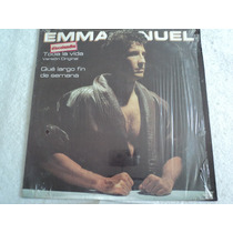 Emmanuel Toda La Vida/ Envío Gratis/ Lp Vinil Maxi 12