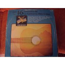 Lp Las 16 Grandes De La Guitarra Mexicana , Envio Gratis