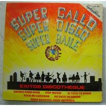 Super Gallo / Super Disco 1 Disco Lp Vinilo