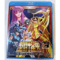 Saint Seiya The Movie Box Blu-ray 1987-2004 + Kct Soundtrack