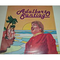 Lp Adalberto Santiago Homonimo Fania Records Seminuevo
