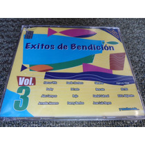 3cds+1dvd Exitos De Bendición Vol. 3 Nuevo!! Sellado!!