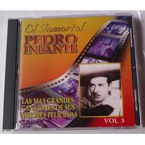 Pedro Infante Canciones De Sus Mejores Peliculas Cd Vol 3