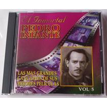 Pedro Infante Canciones De Sus Mejores Peliculas Cd Vol 5