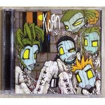 Korn Issues Portada Alterna Cd Con Todo Su Arte Original Bvf