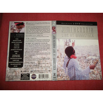 Jimi Hendrix - Live At Woodstock Dvd Doble Usa 2005 Mdisk