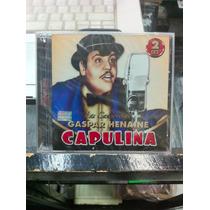 Las Canciones De Gaspar Henaine Capulina Cd Doble Nuevo