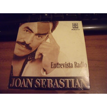 Cd Joan Sebastian Entevista Radio , Envio Gratis