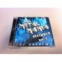 Metal Mania Stripped Vh1 Vol. 2 Cd Bullet Boys, Scorpions