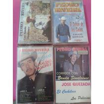 Casetes Pedro Rivera ( Papa Jenni Rivera) Nuevos Y Sellados