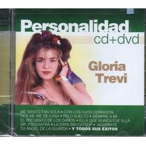 Personalidad Gloria Trevi Cd + Dvd. Nuevo Y Original