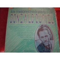 Lp Gonzalo Curiel, Los Mejores Interpretes, Seminuevo
