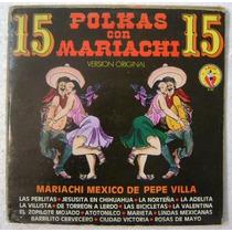 Polkas Con Mariachi 1 Disco Lp Vinilo