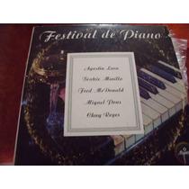 Lp Festival De Piano, Album 3 Discos, Envio Gratis