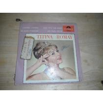Titina Romay Lp Sencillo De 45, Rock Español 60,s