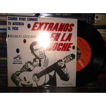 Marco Antonio Muñiz / Extraños En La Noche Disco Ep