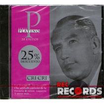 Cri Cri, 20 Éxitos Serie Platino, Bmg 1995, Nuevo!!!