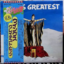 Wings / Greatest 1disco Lp Vinilo Japones Obi Poster Sticker