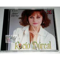 Cd Rocio Durcal / Amor Eterno, Canciones De Juan Gabriel