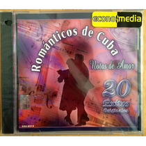 Cd Romanticos De Cuba 20 Exitos Nuevo Sellado