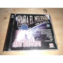 Ana Barbara 21 Exitos Hacia El Milenio Album Doble Nuevo