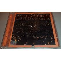 Cd Soda Stereo El Ultimo Concierto Parte A 1a Edicion 1997