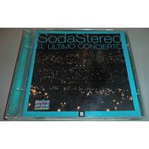 Cd Soda Stereo El Ultimo Concierto Parte B 1a Edicion 1997