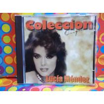 Lucia Mendez Cd Coleccion Original Usa Importado Nvo.