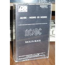 Acdc Cassette Black In Black Kct