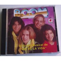 Boom El Grupo Musical De Asi Es La Vida Cd 1a Ed 1999 C/book