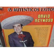 David Reynoso 15 Autenticos Exitos Lp