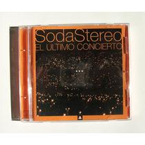 Soda Stereo El Ultimo Concierto A Cd Original Mexicano