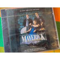 Cd Maverick - O.s.t.- Nuevo, Sellado.