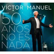 Victor Manuel / 50 Años No Es Nada / 2 Discos Cd + Dvd
