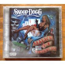 Snoop Dogg Malice In Wonderland Cd Sellado Nuevo