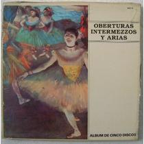 Oberturas, Intermezzos Y Arias 5 Discos Lp Vinilo