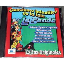 Cd Canciones Infantiles De La Tele Española Familia Telerin